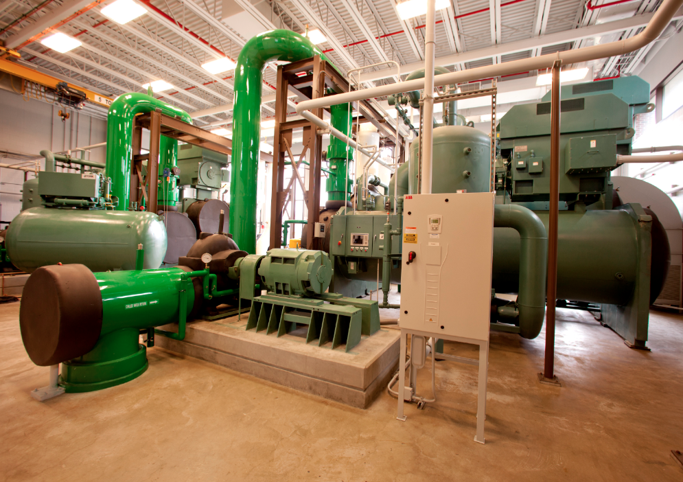 Ball State University's geothermal energy system
