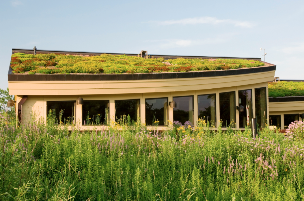 The expected service life of a vegetated roof is 20-40 years