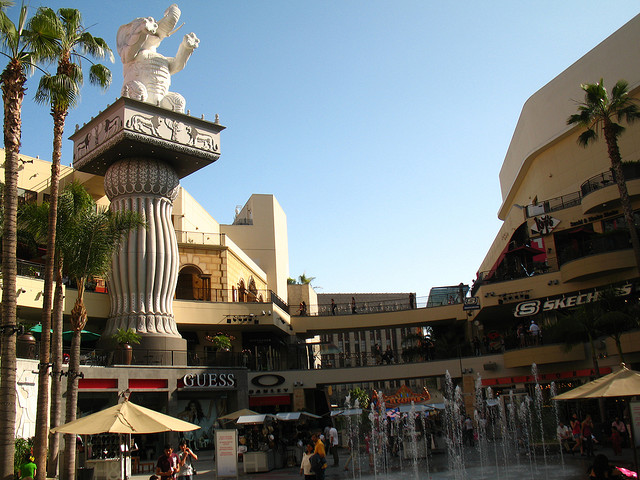Hollywood and Highland Center. Los Angeles, CA