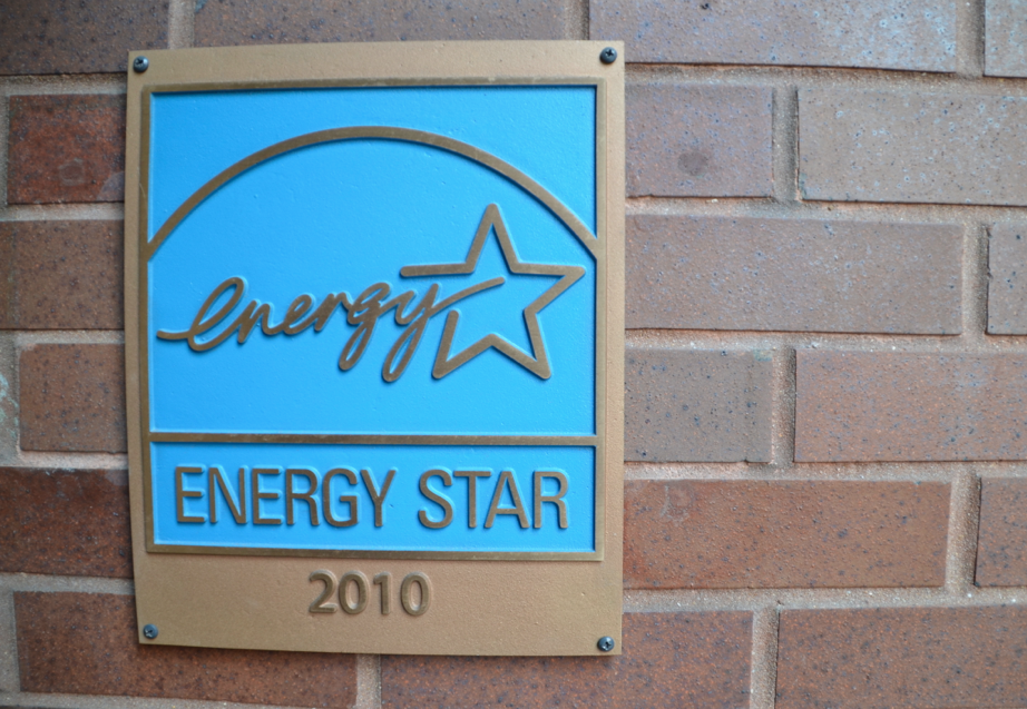 Energy Star Plaque