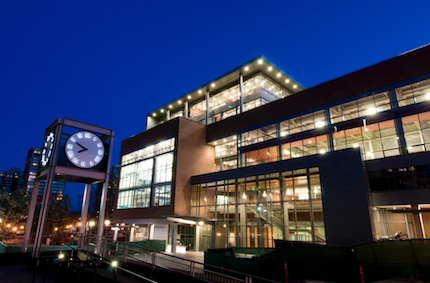 PSU's LEED Gold Academic Student and Rec Center  (Image courtesy of Portland State University).