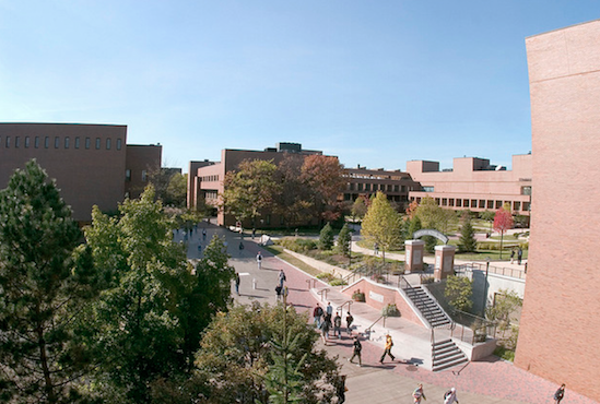 RIT takes pride in being rated the 'geekiest campus in the country.' (Image courtesy of RIT).