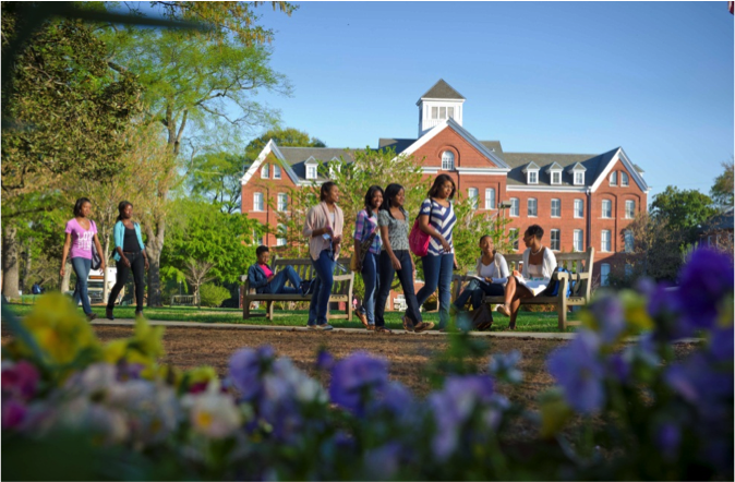 Spelman College is one of six universities announcing a new partnership with Chevrolet to reduce greenhouse gas emissions.