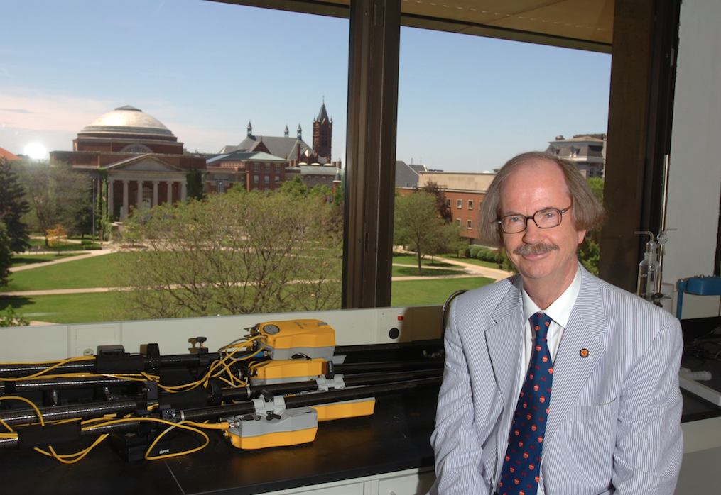 Dr. P. Ole Fanger [Image courtesy Syracuse COE]