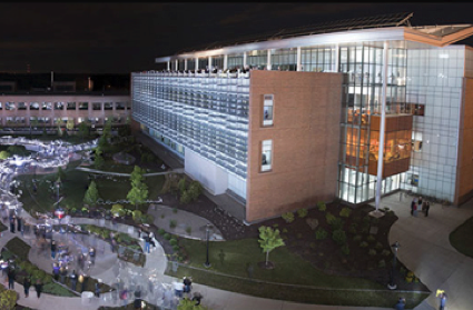 RIT Golisano Institute for Sustainability, the hub of RIT's clean tech research and innovation.