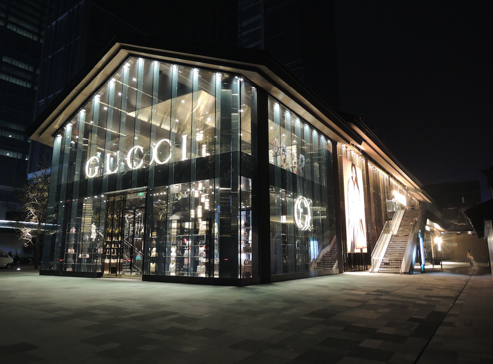 Gucci Chengdu Daci – LEED CI Retail Platinum – 83 points (top 3% of projects in its rating system).
